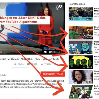 was sind hater youtube
